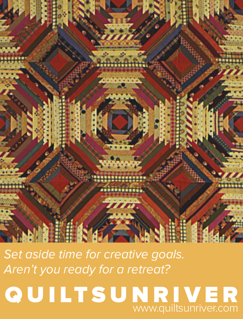 Set aside time for creative goals.