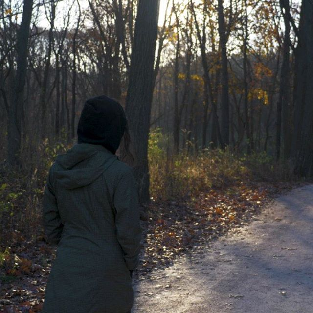 I'm thankful for spending time outdoors in the fall weather with the people I love the most #optoutside . . . . #thankful #thanksgiving #blackfriday #outdoors #fall #autumn #leaves #waterfall #hike #hiking #family #sunset #traveling #travel #travelgram #suburbs #path #gooutside #scenery #illinois #forest #forestpreserve