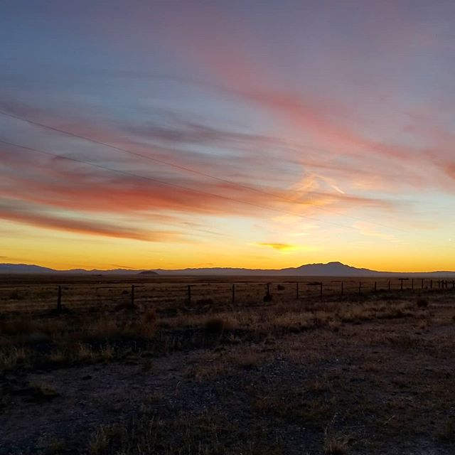 Not much around here but plenty to admire  #onlocation #productionlife #sunset #sunsets #desert #newmexico #traveling #travel #travelphotography #wanderlust #gooutside #explore #instatravel #choochoo #outdoors #travelgram #welivetoexplore