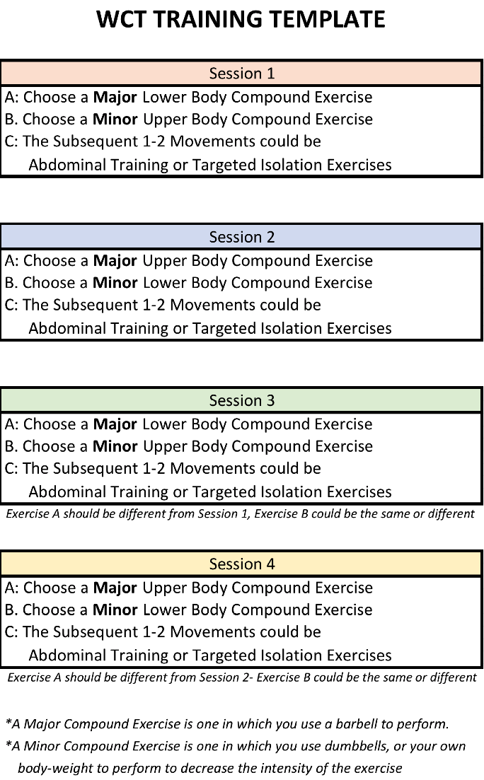 Workout Template