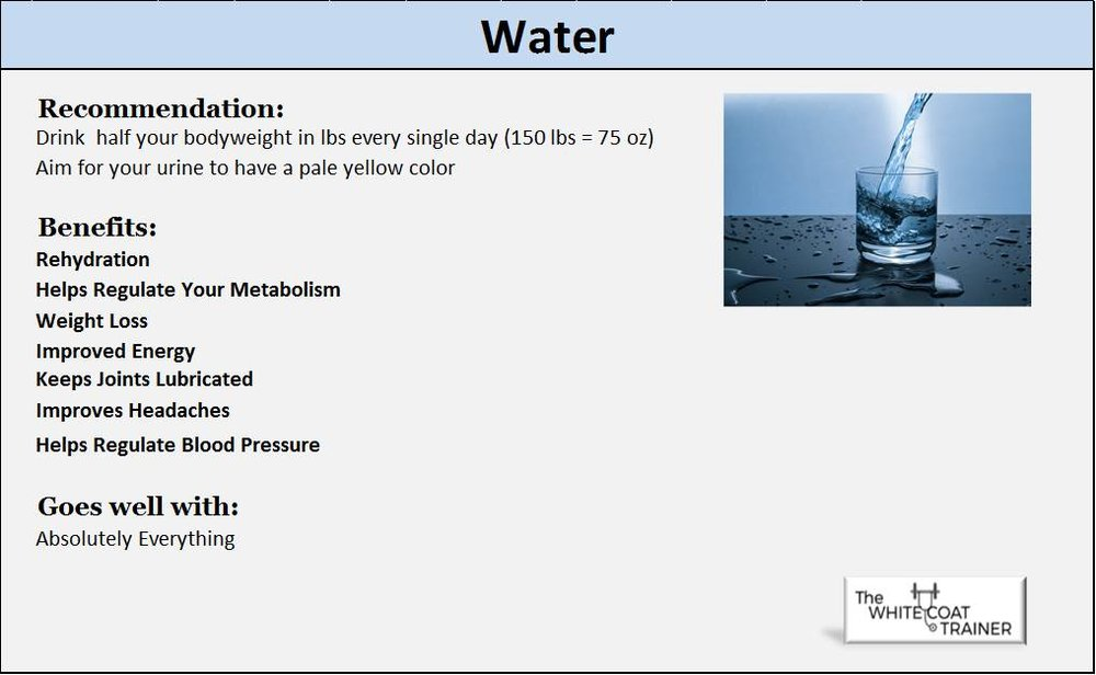 water superfood