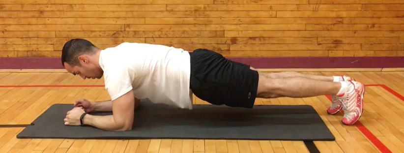 exercise challenge - plank