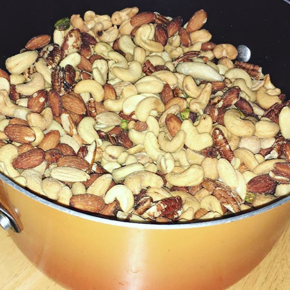Nuts are one of the easiest foods to meal prep in bulk