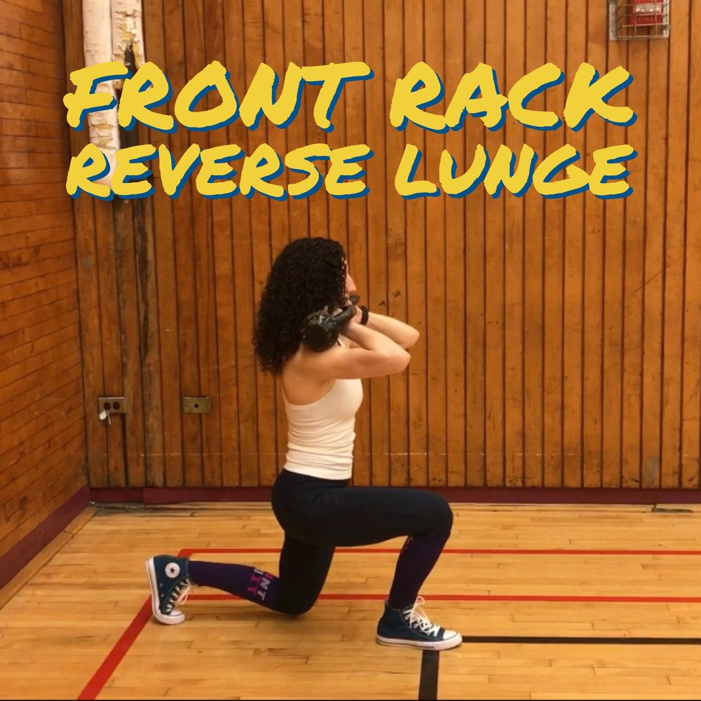 front-rack-reverse-lunge