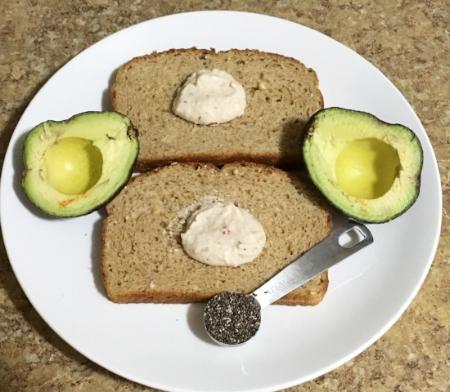 Hummus-Avocado-Toast