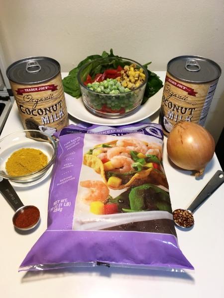 Vegetable-Shrimp-Curry
