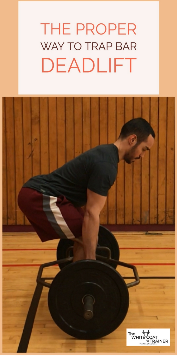 How to do trap bar deadlifts correctly and safely the white coat trap bar deadlift technique falaconquin