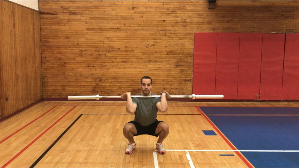 Front-squat-grip