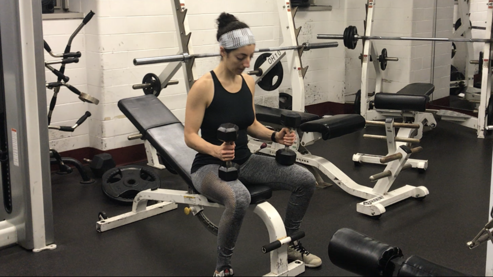 how to incline dumbbell press correctly and safely the white coat