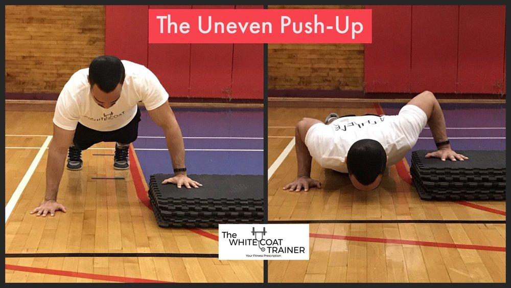 bodyweight-program-uneven-push-up