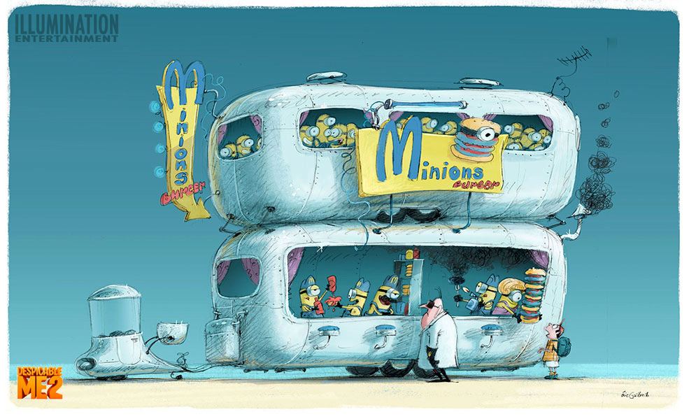Despicable Me 2 Concept Art