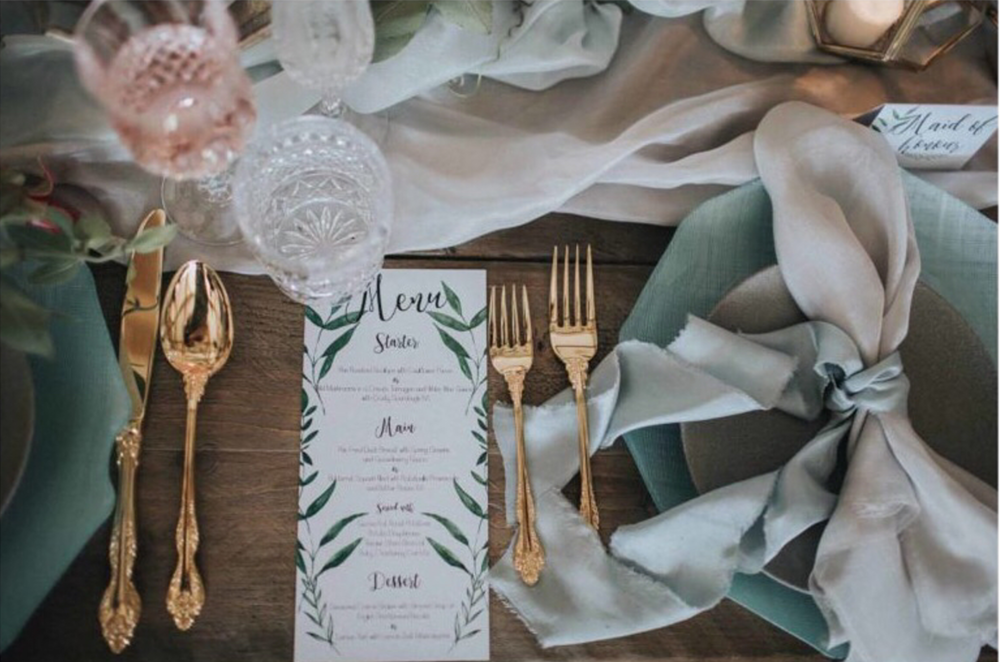 Amy Bailey Design Stationery  OFFER AVAILABLE   Spend £200 on stationery and receive a free table plan of the value of £80. Mention the code SOPHIEANDLUNA when ordering to receive this treat!