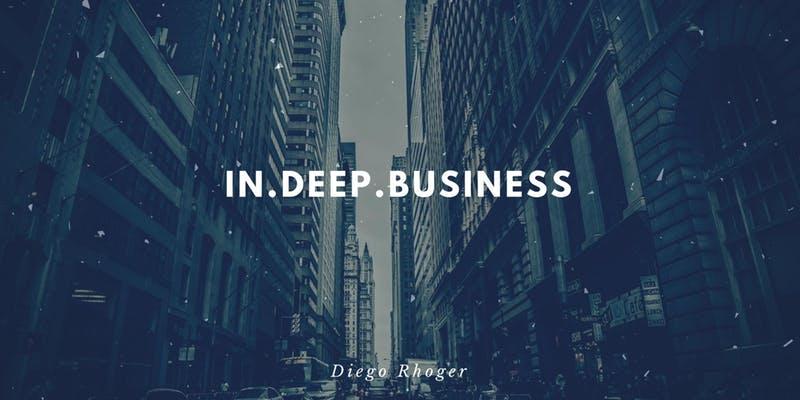 In.Deep Business , o primeiro workshop da trilha de cursos In.Deep.