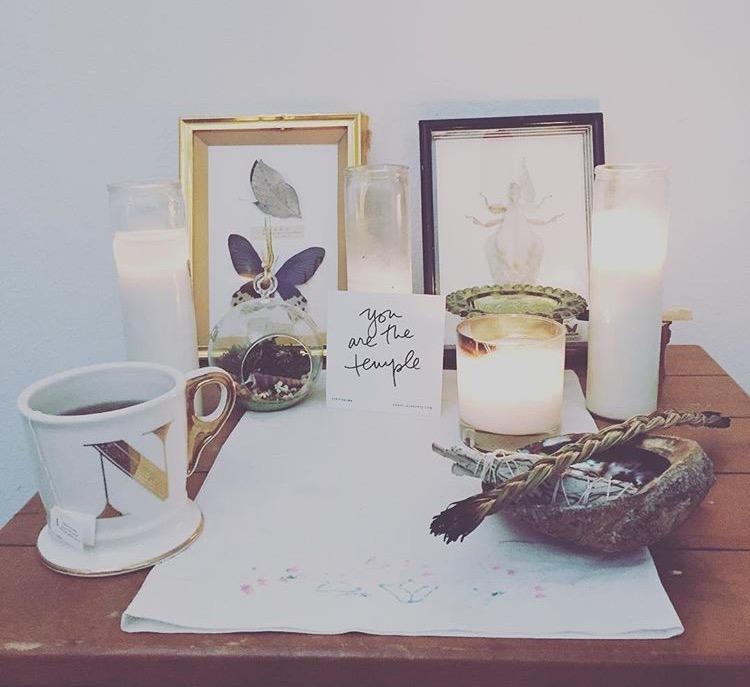nicolemurdock. | Should I Create an Altar Space?