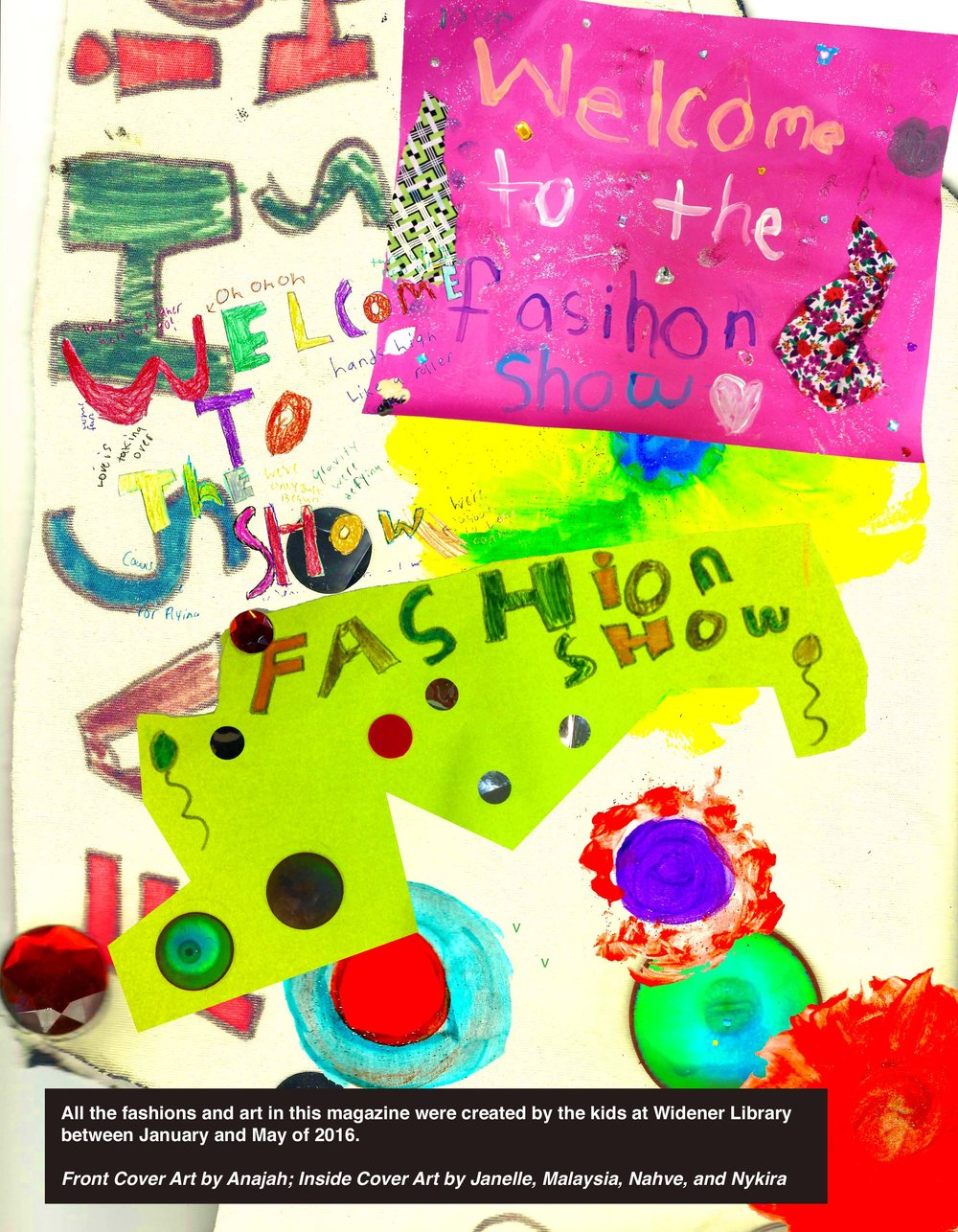 Fashion magazine created with youth at the Widener Library