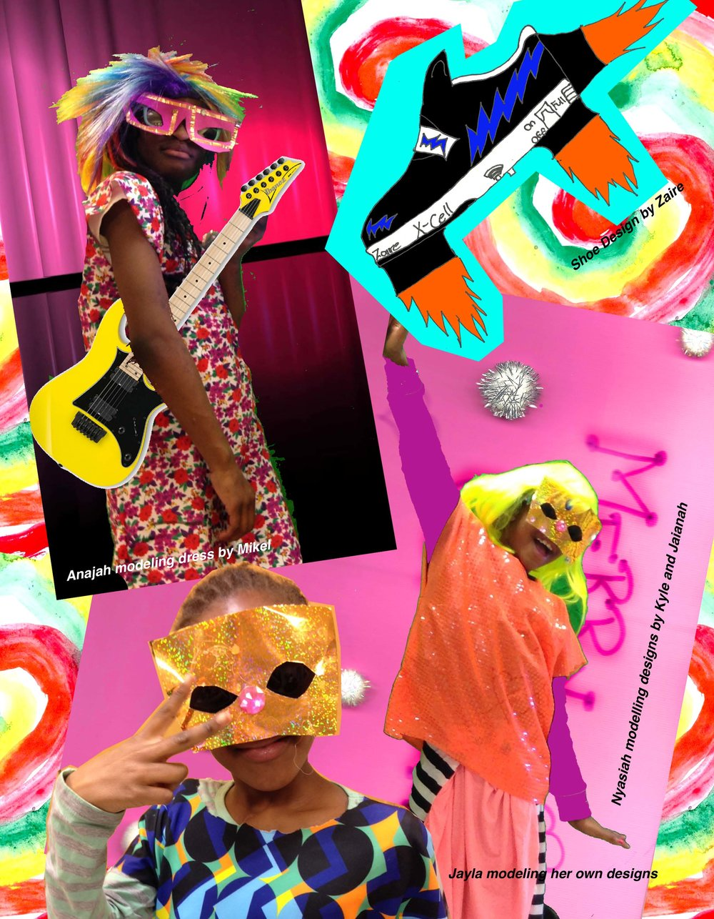In 2016, the kids at Philly's Widener Library and I worked on a Futuristic Fashion Project. As part of that we made this magazine.