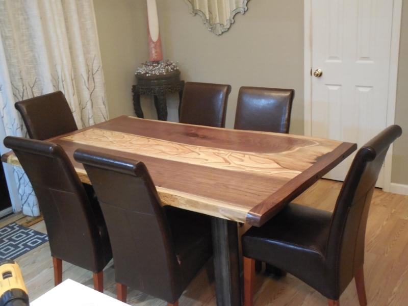 WALNUT SLAB TABLE 1