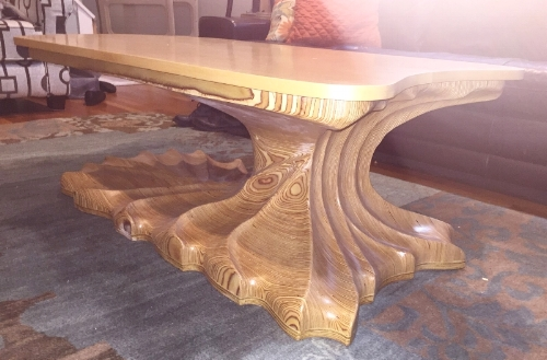 CARVED COFFEE TABLE 2