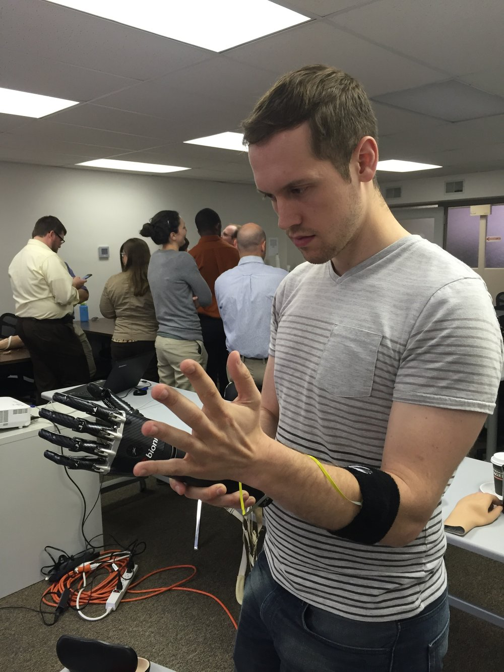 Dan Arnett - Researcher and Teaching Assistant at Carnegie Mellon University Robotics Institute