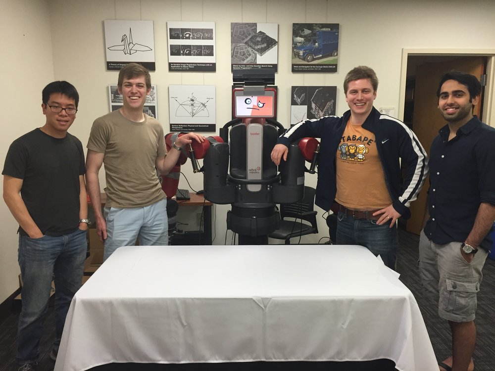 Alvin Chou, Gene Merewether, Mitch Kosowski, Gautam Narang - Robotics Engineers