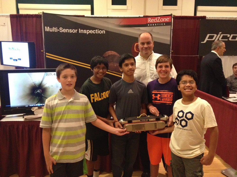 RedZone Robotics at Innovation Palooza