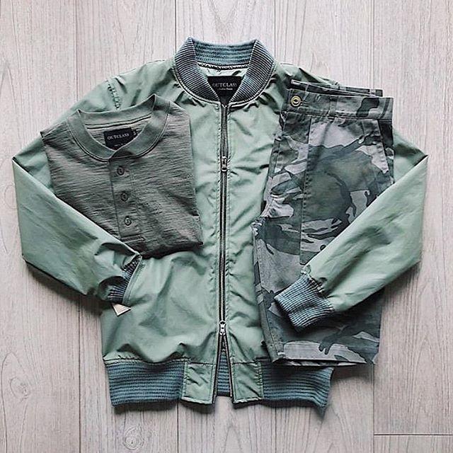 Green goodies @outclass_attire