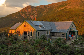 Greenleaf hut trip5/3/19 - 5/5/19 - This is a backpacking trip on which attendees will be hiking with backpacking frame packs to the Greenleaf Hut in the White Mountains.