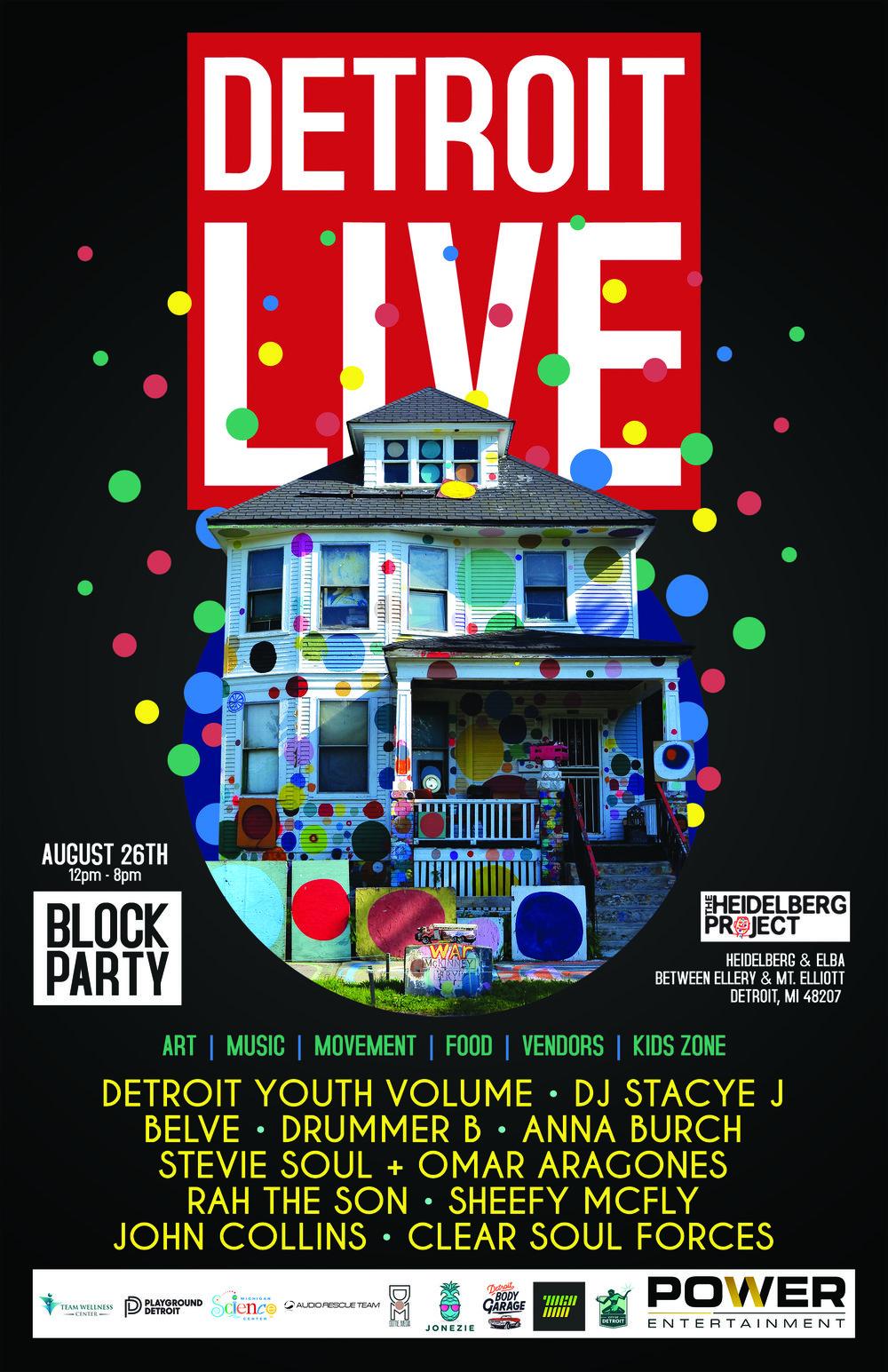Detroit LIVE at Heidelberg