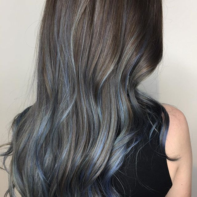 Blue Jean Baby 💙  Featuring @joicointensity #metallicmoonstone @loneandco #loneandco . . . . . . @modernsalon #modernsalon @canadianhairdresser #canadianhairdresser @salonmagazine #salonmagazine @hairbrained_official #hairbrained @olaplex #olaplex  #bluehair #silverhair #greyhair #hair #hairstyles #haircolor #hairenvy #beachywaves #balayage #blondehair #blondebalayage #handpainted #colormelt #toronto #torontohair #torontohairstylist #torontohairsalon #leslieville #riverside #riverdale