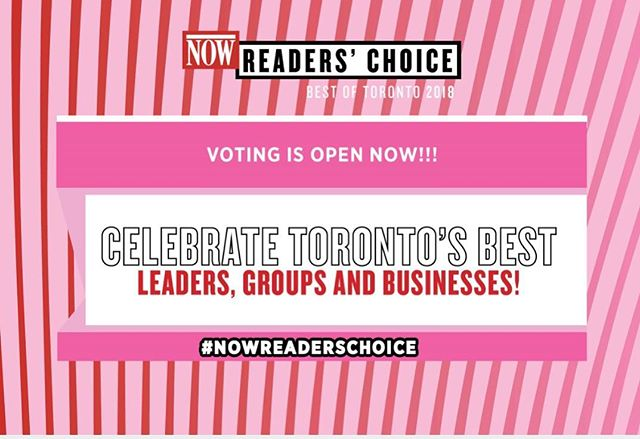 "Daughter of Oz has been nominated for ""Best Hair Salon"" in Now Magazine's 2018 Readers' Choice Awards! The polls are open until August 2nd- so please show some love and vote! Link in bio 💕 . . . . . @nowtoronto #nowreaderschoice"