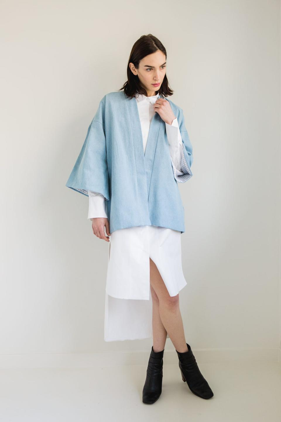 Eat.Sleep.Denim. - Meet the Denim Kimono You'll Wear With Everything