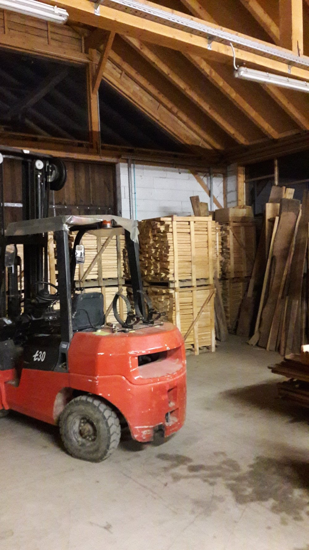 Finding more and more pallets....