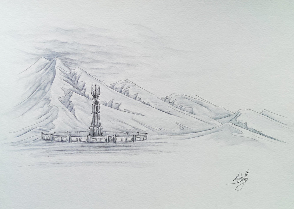 """Isengard"" by OnlyChasing-Safety on Deviant Art"