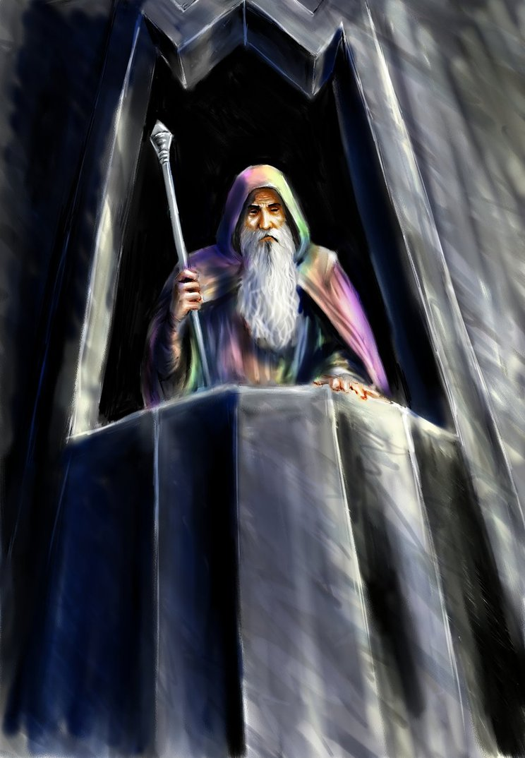 """Saruman of Many Colors"" by TolmanCotton on Deviant Art"