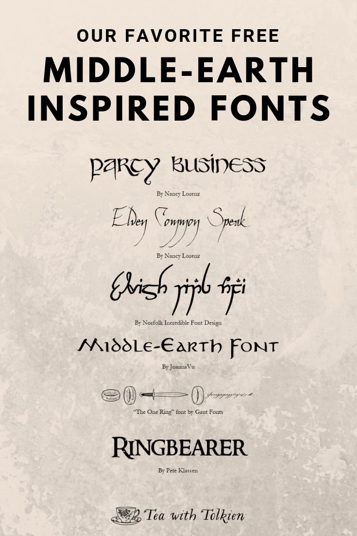 Middle-Earth Inspired Fonts.png