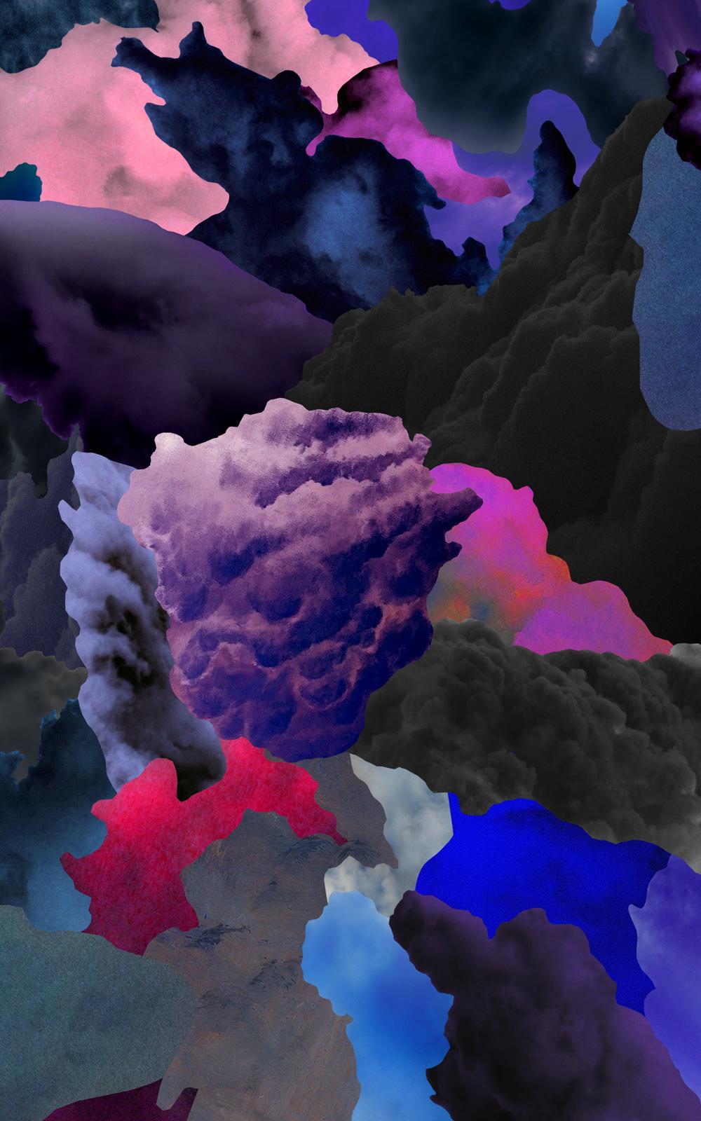 Case Simmons, The Great Landscape Suite (Color), Pigment Print, Digital Collage, Digital Art, Photoshop Collage, Contemporary Collage, Photoshop Actions, Case Simmons Art