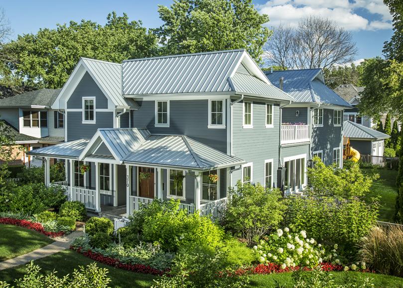 LEED Platinum House Glencoe, IL | Kipnis Architecture + Planning