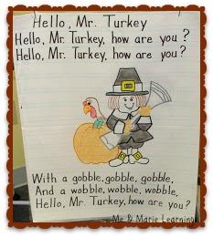 November preschool song