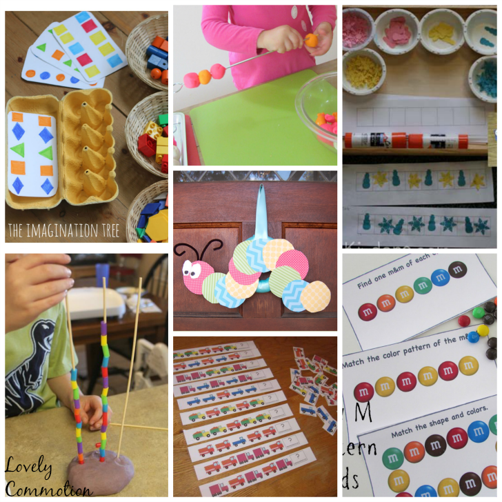 preschool patterning