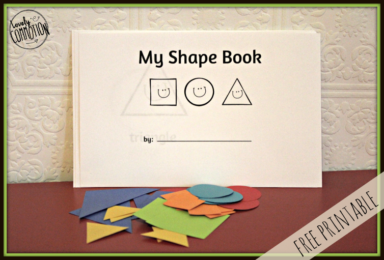 toddler shape book