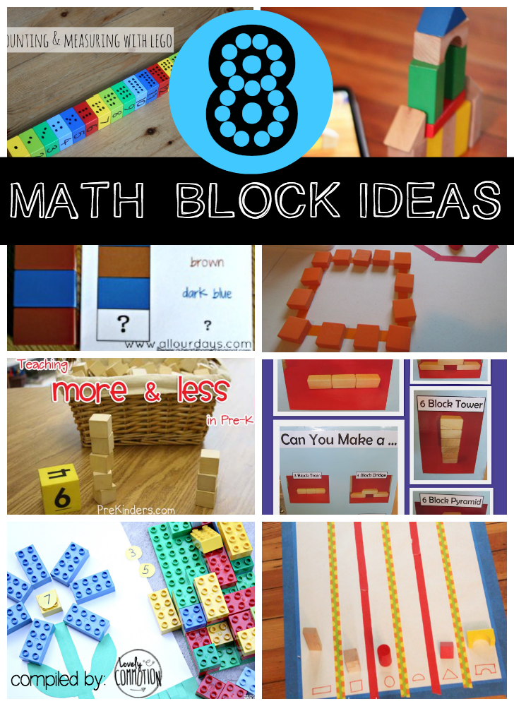 preschool math block games