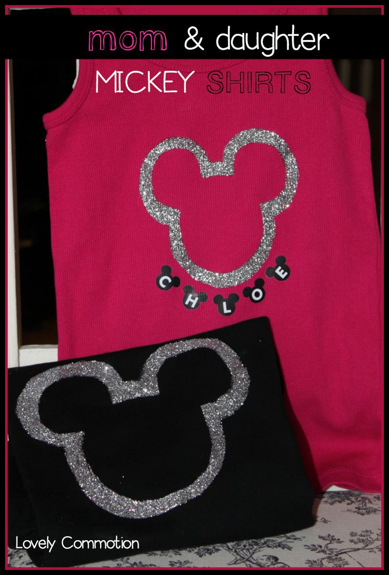 glitter mickey shirts