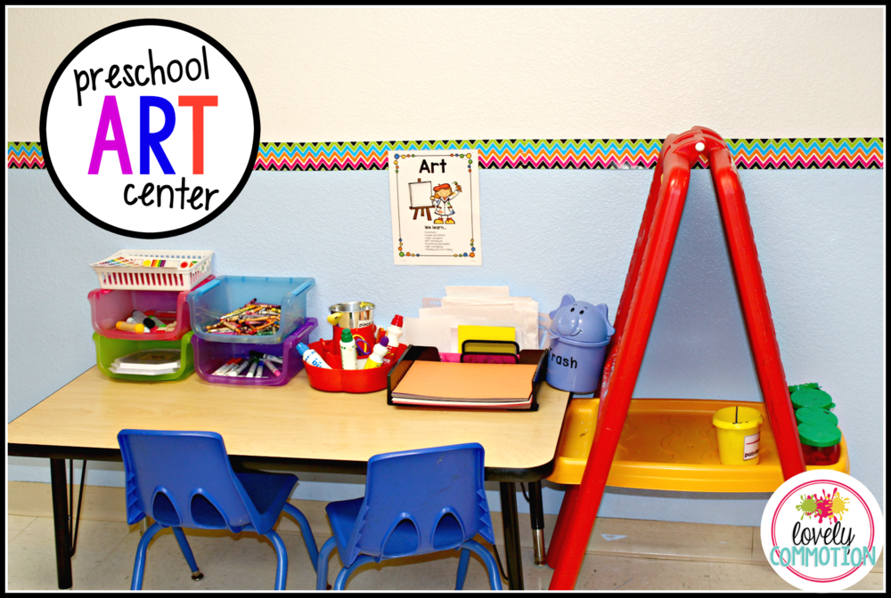 Setting up a preschool classroom