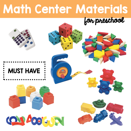 Math Center Preschool