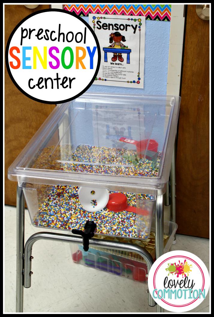 Sensory Tub in Pre-K