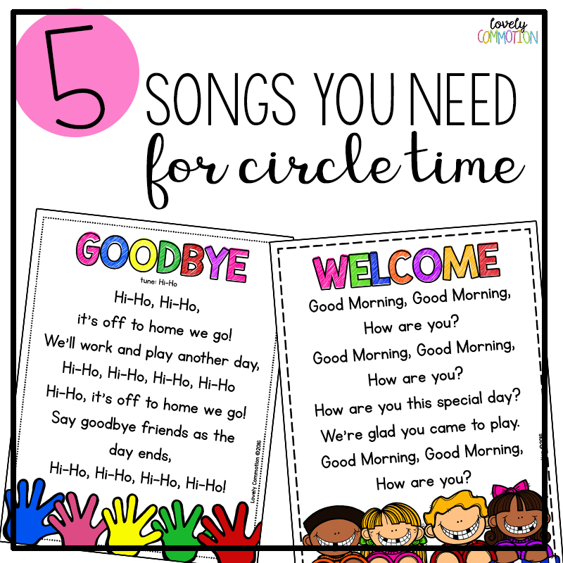 5 songs you need for preschool circle time lovely commotion - One of your students left their book on the table ...