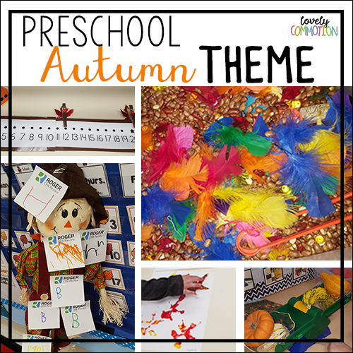 autumn preschool activities