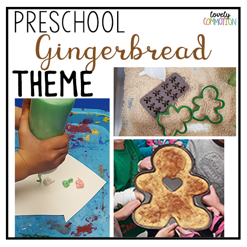gingerbread preschool activities