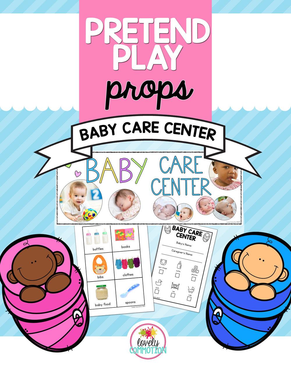 baby care dramatic play preschool