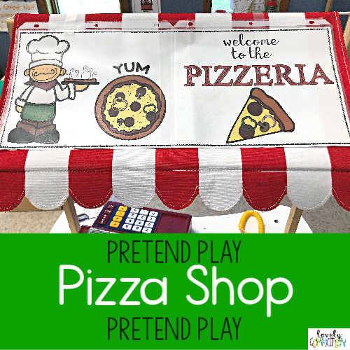 Pizza Shop Pretend Play